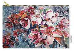 Carry-all Pouch featuring the painting Spring Beauty by Kovacs Anna Brigitta