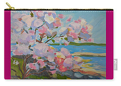 Spring Blooms By Sea Carry-all Pouch