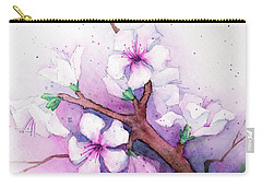 Spring Blooms Carry-all Pouch by Rebecca Davis