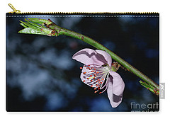 Carry-all Pouch featuring the photograph Spring Blossom At Sunset By Kaye Menner by Kaye Menner