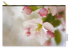 Carry-all Pouch featuring the photograph Spring Blossom Whisper by Diane Alexander