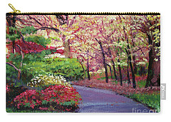 Spring Blossoms Impressions Carry-all Pouch