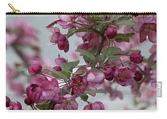 Carry-all Pouch featuring the photograph Spring Blossoms by PJ Boylan