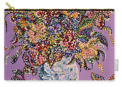 Spring Bouquet  Carry-all Pouch by Erika Pochybova