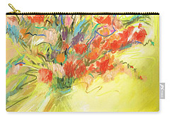 Spring Bouquet Carry-all Pouch by Frances Marino