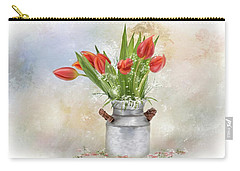 Spring Bouquet Of Tulips Carry-all Pouch