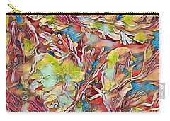 Carry-all Pouch featuring the photograph Spring Breaks Forth by Kathie Chicoine