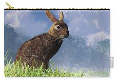 Spring Bunny Carry-all Pouch by Daniel Eskridge