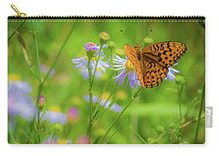 Spring Butterfly Carry-all Pouch