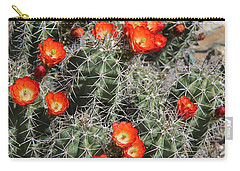 Spring Cactus Carry-all Pouch by Kathy Bassett