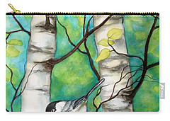 Spring Chickadees Carry-all Pouch