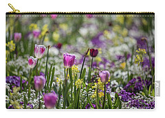 Spring Colors Carry-all Pouch by Eva Lechner