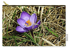 Spring Crocus Carry-all Pouch