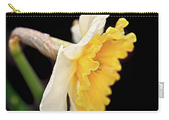 Carry-all Pouch featuring the photograph Spring Daffodil Flower by Jennie Marie Schell