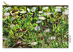 Spring Daisy Trails Carry-all Pouch