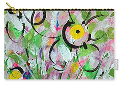 Spring Dance Carry-all Pouch by T Fry-Green