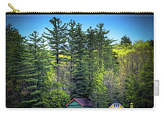 Spring Day At Old Forge Pond Carry-all Pouch by David Patterson