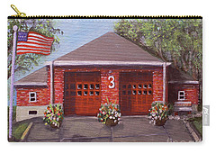 Spring Day At Willow Fire House Carry-all Pouch
