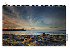 Spring Evening At Madrona Carry-all Pouch by Randy Hall