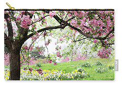 Carry-all Pouch featuring the photograph Spring Fever by Jessica Jenney