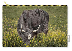 Carry-all Pouch featuring the photograph Spring Fields by Robin-Lee Vieira