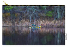 Spring Fishing Carry-all Pouch by Tricia Marchlik
