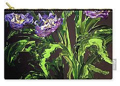 Spring Floral Carry-all Pouch by Alan Lakin