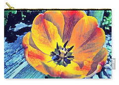 Carry-all Pouch featuring the photograph Spring Flower Bloom by Derek Gedney
