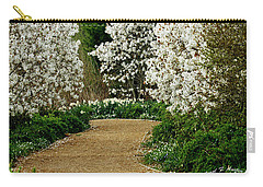 Spring Flowering Trees Wall Art Carry-all Pouch