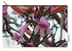 Carry-all Pouch featuring the photograph Spring Flowers 000  by Chris Mercer