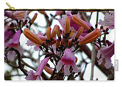 Carry-all Pouch featuring the photograph Spring Flowers by Chris Mercer