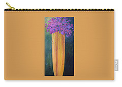 Spring Flowers Carry-all Pouch by Nancy Jolley