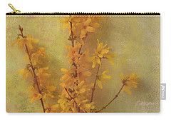 Spring Forsythia Carry-all Pouch