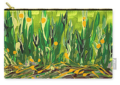 Carry-all Pouch featuring the painting Spring Garden by Holly Carmichael