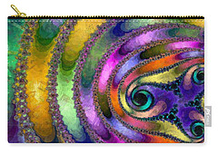 Spring Garden Abstract Carry-all Pouch by Maciek Froncisz