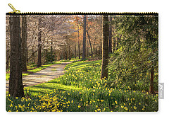 Spring Garden Path Carry-all Pouch