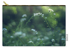 Carry-all Pouch featuring the photograph Spring Garden Scene #1 by Gene Garnace