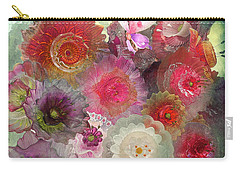 Carry-all Pouch featuring the photograph Spring Glass by Jeff Burgess