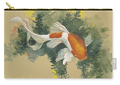 Curvy Goldfish  Carry-all Pouch