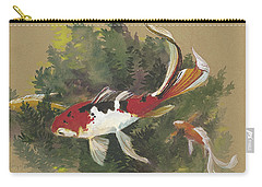 Spring Goldfish II Carry-all Pouch
