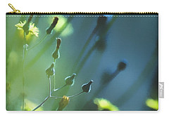 Carry-all Pouch featuring the photograph Spring Grass by Yulia Kazansky