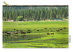 Spring Grazing Carry-all Pouch
