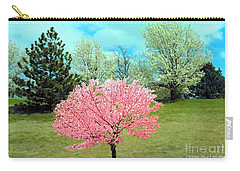 Spring Has Sprung And Winter's Done Carry-all Pouch