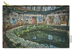 Carry-all Pouch featuring the photograph Spring House 2 - Paradise Springs - Kettle Moraine State Forest by Jennifer Rondinelli Reilly - Fine Art Photography