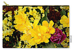 Carry-all Pouch featuring the photograph Spring In Dallas by Diana Mary Sharpton
