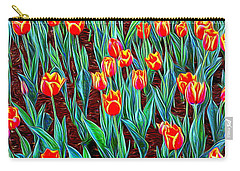 Spring In Holland Carry-all Pouch by Ian Gledhill
