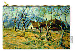 Carry-all Pouch featuring the painting Spring In Poland by Henryk Gorecki