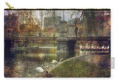 Spring In The Boston Public Garden Carry-all Pouch by Joann Vitali