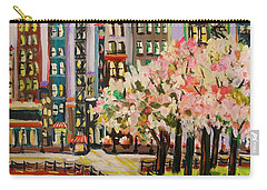 Spring In The City Carry-all Pouch