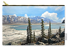 Spring In The Wrangell Mountains Carry-all Pouch